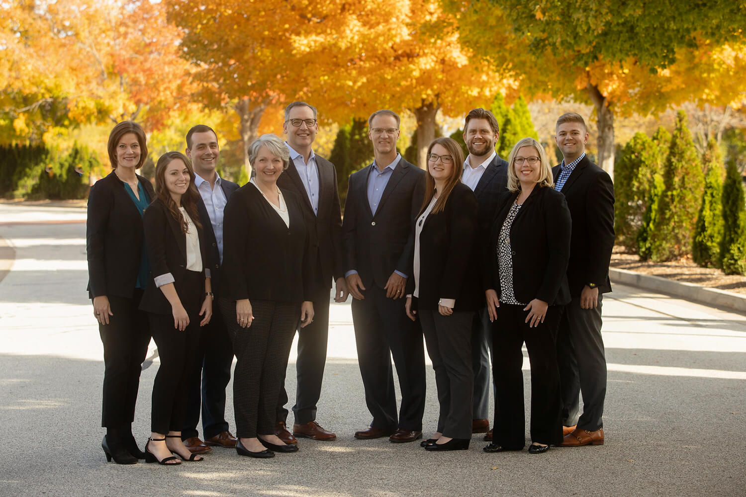 McGill Junge Wealth Management team photo