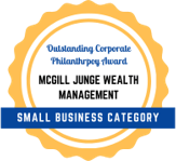 Outstanding Corporate Philanthropy Award logo